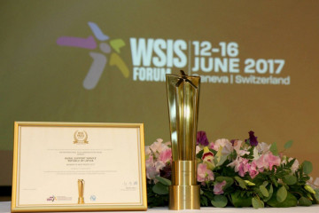 Prime Minister and Minister of Agriculture congratulate RSS with the WSIS Prize 2017